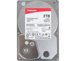 TOSHIBA 2TB 3.5 SATA III 64MB 7.200rpm HDWD120UZSVA P300 series bulk