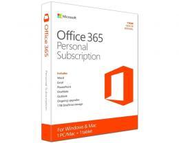MICROSOFT Office 365 Personal godišnja pretplata 32bit/64bit P2 Eng (QQ2-00563)