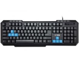 ETECH ePro-50 Gaming USB US crna tastatura