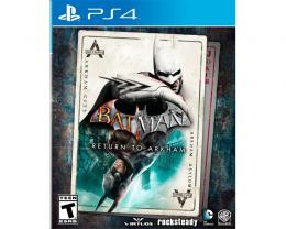 WARNER BROS Batman Return to Arkham PS4