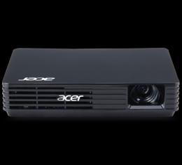 Acer PJ C120, WVGA (854x480), LED, 100Lm, 1000:1, Lampa: 20000 sati, USB, ULTRAPORTABLE, crni