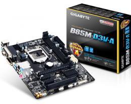 Gigabyte Intel MB GA-B85M-D3V-A 1150
