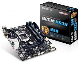 Gigabyte Intel MB GA-B85M-DS3H-A 1150