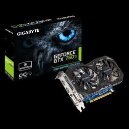 Gigabyte NVD GTX 750Ti 2GB DDR5 128bit GV-N75TOC2-2GI