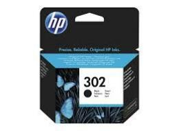 HP 302 Black Original Ink Cartridge F6U66AE
