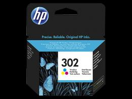 HP 302 Tri-color Original Ink Cartridge F6U65AE