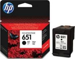 HP 651 Black Ink Advantage Cartridge C2P10AE