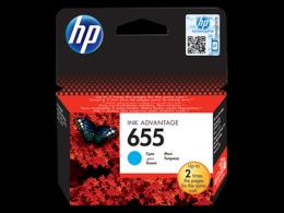 HP 655 Cyan Ink Cartr.[CZ110AE] HP Deskjet Ink Advantage 3525, 4615, 4625, 5525, 6525 e-All-in-One