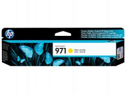 HP No. 971 Yellow Ink Cartridge za Officejet X451dn/X551dw/X476dn/X576dw CN624AE