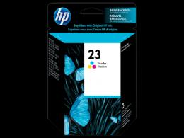 HP No.23 Large Tri-Colour Inkj Print Cartridge 695/710/712/810/830/870/880/895/1120/1125 [C1823D]