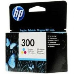 HP No.300 Tri-color Ink Cartridge za DeskJet D1660/D2560/F2420/F2480 [CC643EE]