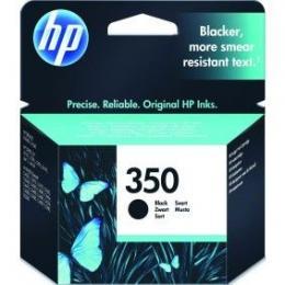 HP No.350 Black Inkjet Print Cartridge, DeskJetD4260,OffjetJ5780,PhotSmC4280,C5280 [CB335EE]