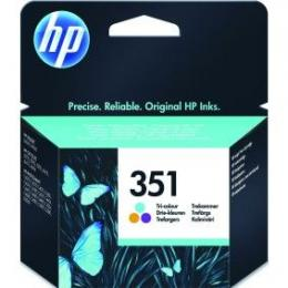 HP No.351 Tri-colour Inkjet Print Cartridge [CB337EE]