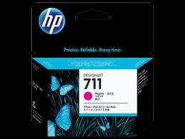 HP No.711 3 pack 29ml Magenta Designjet Ink Cartridge [CZ135A] za plotere T120/ T520