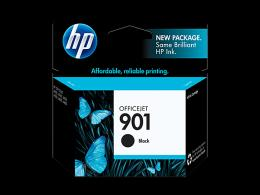 HP No.901 Black Officejet Ink Cartridge [CC653AE]