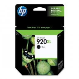 HP No.920XL Black Officejet Ink Cartridge, for Officejet 6500 [CD975AE]