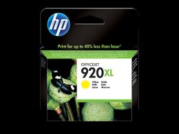 HP No.920XL Yellow Officejet Ink Cartridge,  for Officejet 6500 [CD974AE]