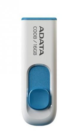 USB memorija Adata 16GB C008 White
