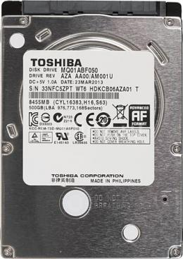 TOS 520GB 2.5˝5400rpm SATA