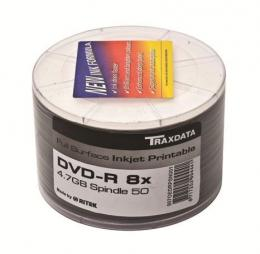 MED DVD disk TRX DVD-R 8X PRN F SP50 WHITE HIGH QUALITY