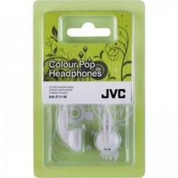 Slušalice JVC HA-F11-W-E white