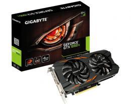 GIGABYTE nVidia GeForce GTX 1050 Ti 4GB 128bit GV-N105TWF2OC-4GD rev.1.0
