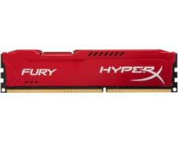 KINGSTON DIMM DDR3 8GB 1600MHz HX316C10FR/8 HyperX Fury Red