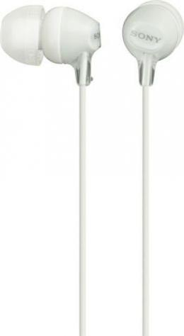 SONY slušalice MDR-EX15LPW white
