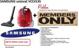 SAMSUNG usisivač VCC4135S3RBOL, 1600W+ OTIRAČ Members only