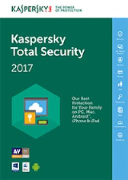Kaspersky Total Security - multi-device jedna godišnja licenca