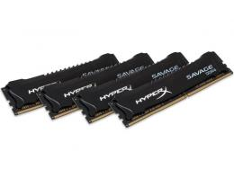 KINGSTON DIMM DDR4 64GB (4x16GB kit) 2400MHz HX424C14SBK4/64 HyperX XMP Savage