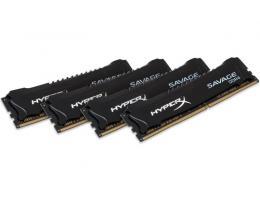 KINGSTON DIMM DDR4 64GB (4x16GB kit) 2400MHz HX424C14SBK4/64 HyperX XMP Savage