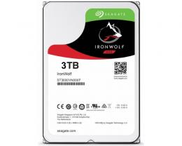 SEAGATE 3TB 3.5 SATA III 64MB ST3000VN007 IronWolf Guardian