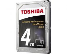 TOSHIBA 4TB 3.5 SATA III 128MB 7.200rpm HDWE140UZSVA X300 series bulk