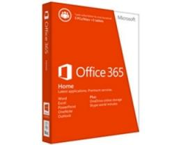 MICROSOFT Office 365 Home 32bit/64bit, Central/Eastern European only, medialess, P2 (6GQ-00660)