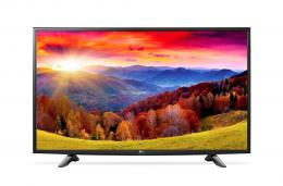 LG 32LH590U LED TV 32 HD Ready, WebOS 3.0 SMART, T2, Metal/Black, Two pole stand