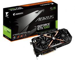 GIGABYTE nVidia GeForce GTX 1080 8GB 256bit GV-N1080AORUS X-8GD 1.0