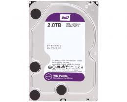 WD 2TB 3.5 SATA III 64MB IntelliPower WD20PURX Purple