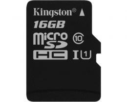 KINGSTON UHS-I MicroSDHC 16GB class 10 SDC10G2/16GBSP