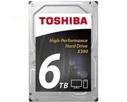 TOSHIBA 6TB 3.5 SATA III 128MB 7.200rpm HDWE160UZSVA X300 series bulk