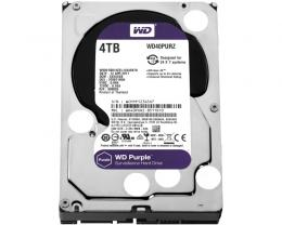 WD 4TB 3.5 SATA III 64MB IntelliPower WD40PURZ Purple