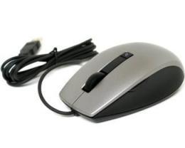 DELL Laser Scroll USB 6 buttons srebrno-crni