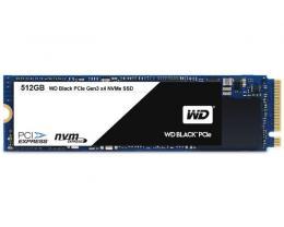 WD 512GB M.2 PCIe Gen 3 WDS512G1X0C Black