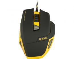 YENKEE YMS 3009 HORNET USB Optical Gaming crno-žuti miš
