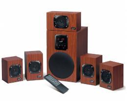 GENIUS SW-HF5.1 4800 5.1 Wood zvučnici