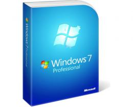 MICROSOFT Windows 7 Professional OEM 64bit SP1 DVD LCP (FQC-08289)