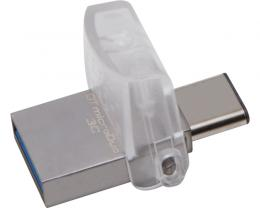 KINGSTON 32GB DataTraveler MicroDuo 3C USB 3.1 flash DTDUO3C/32GB srebrni