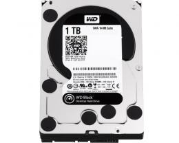 WD 1TB 3.5 SATA III 64MB 7.200rpm WD1003FZEX Black