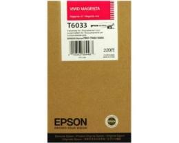 EPSON T6033 Vivid magenta kertridž