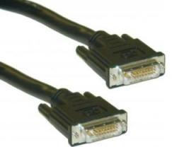 FAST ASIA Kabl DVI-D Single Link - DVI-D Single Link M/M 1.8m crni